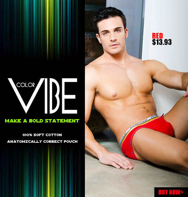 New Color Vibe Brief from Andrew Christian