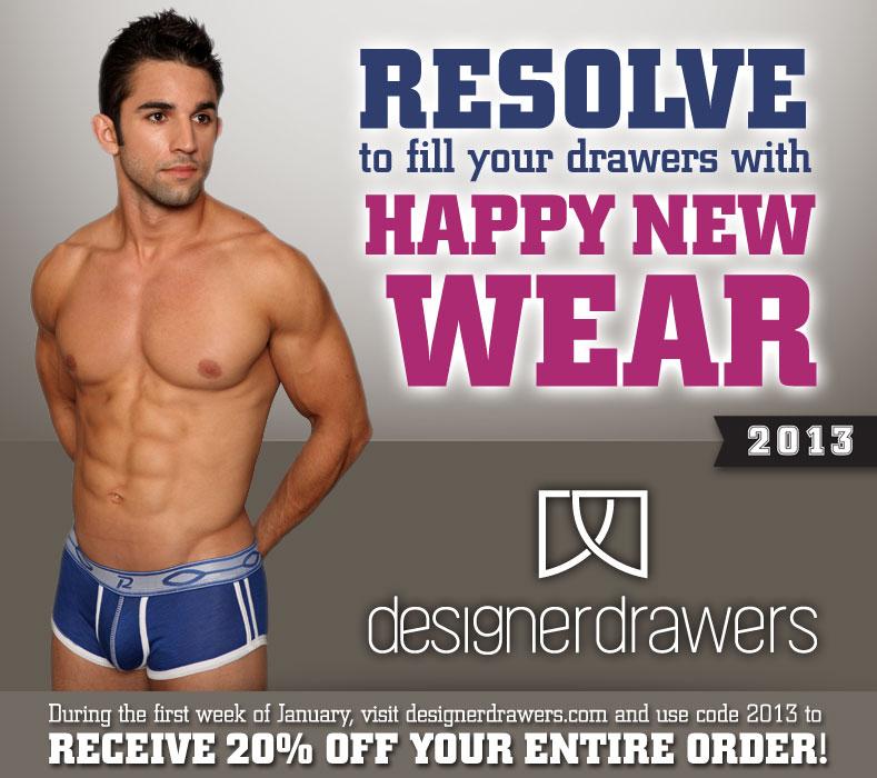 Save 20% at Designer Drawers