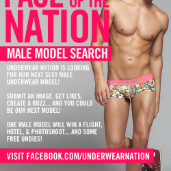 Are you the Face and Body of Underwear Nation?
