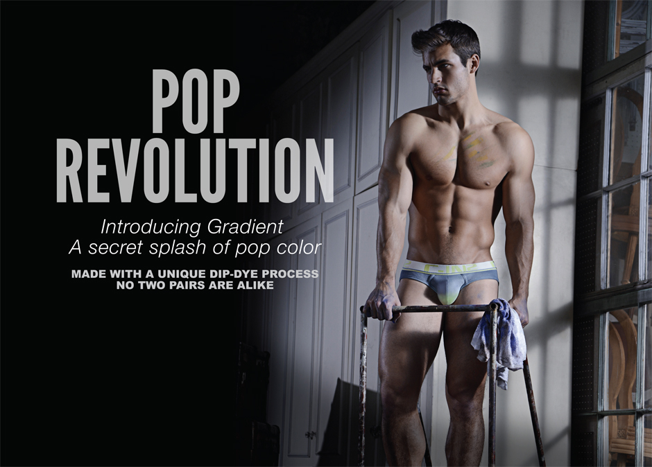 Underwear of the Week - C-IN2 Pop Gradient Lo-No Show Brief