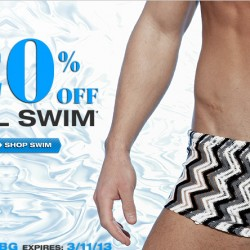 Save 20% off All Swim at UnderGear