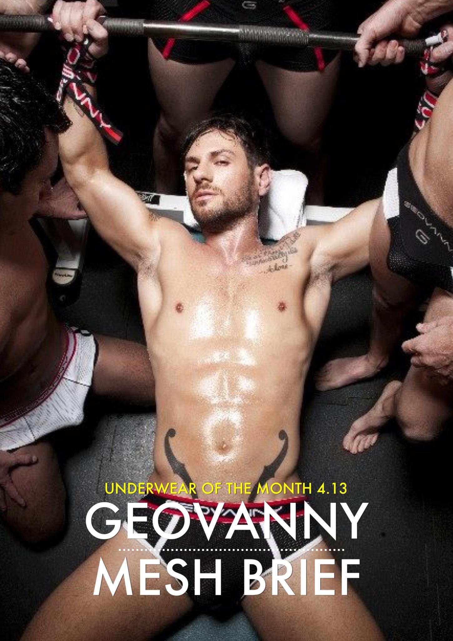 Underwear of the Week April 2013 - Geovanny Mesh Brief