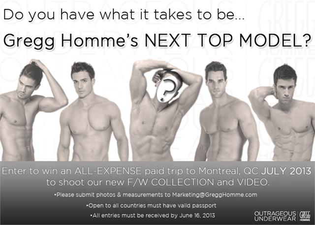 Are You Gregg Hommes Next Top Model?