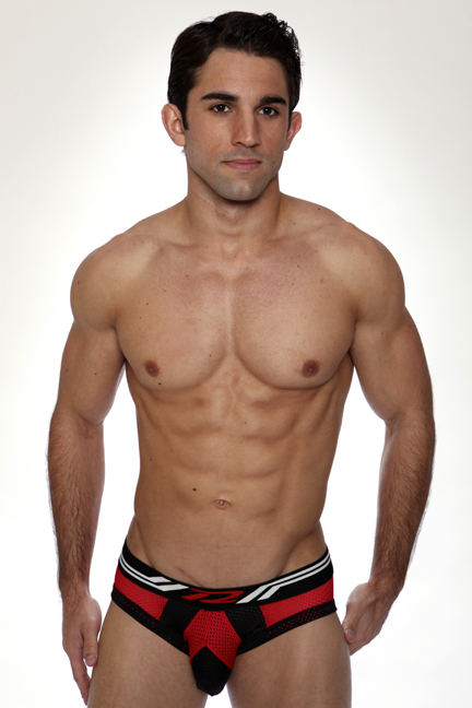 Underwear of the Week - Pistol Pete Power Mesh Brief
