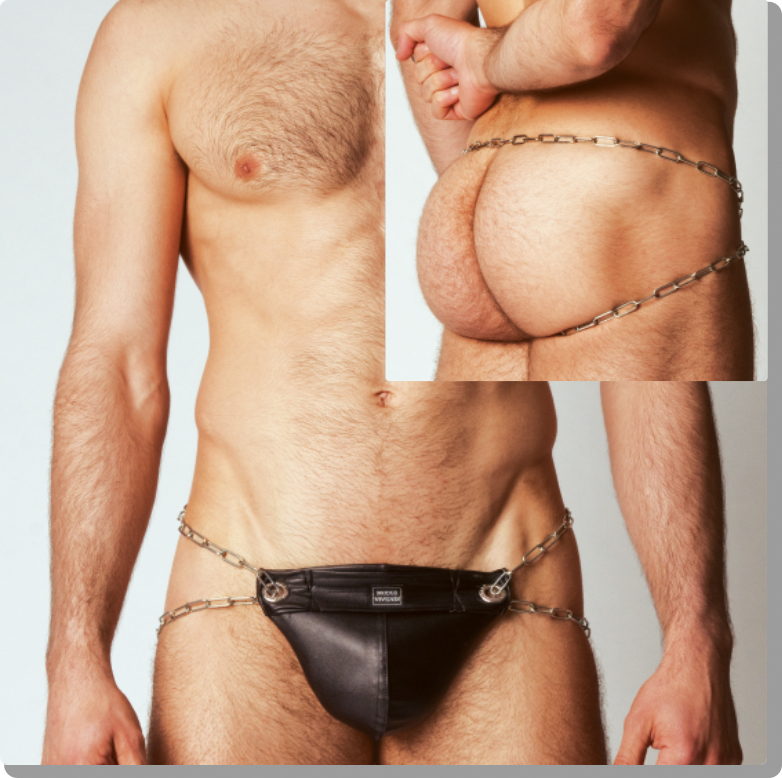 Fetish Friday - Modus Vivendi Leather and Chains!