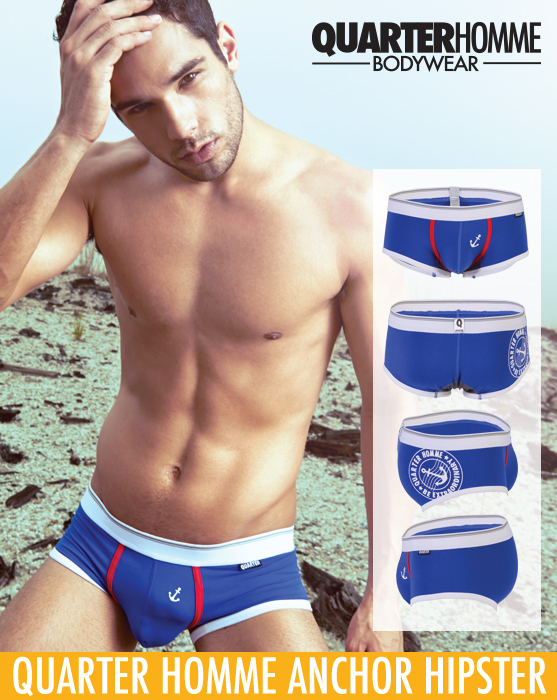 Style Brief - Quarter Homme Anchor Hipster