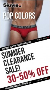 Summer Clearance Sale and New C-IN2 Pop Colors In Stock