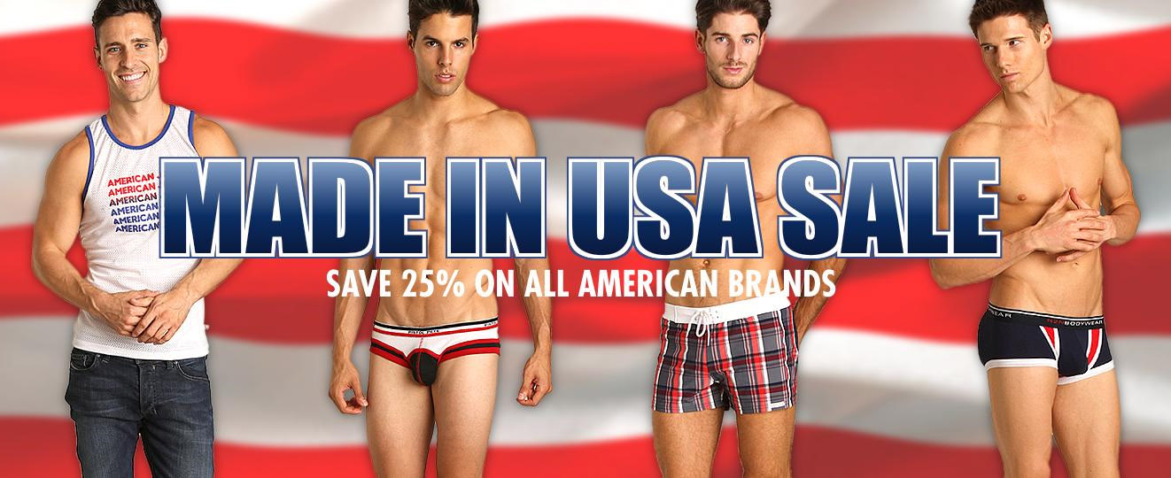 """International Jock """"Made in USA"""" Sale Supports American Workers"""