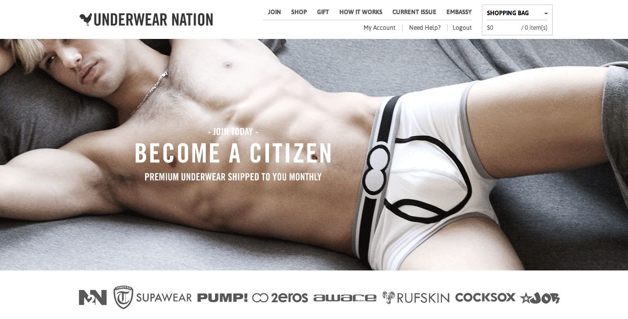 Underwear Nation to Launch New and Improved Site