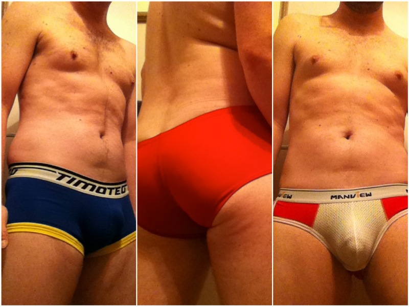 Brief Tale - Find out how @hotguyntown got into undies