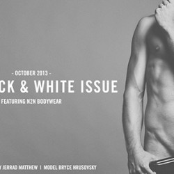 Underwear Nation – Black and White Issue Pictorial