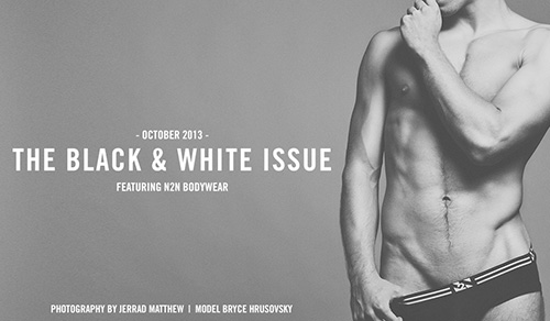 Underwear Nation - Black and White Issue Pictorial