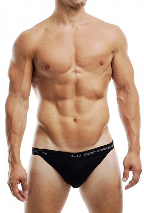 #2731 Full Package Bikini Black (crotch & Butt Padding) # 1