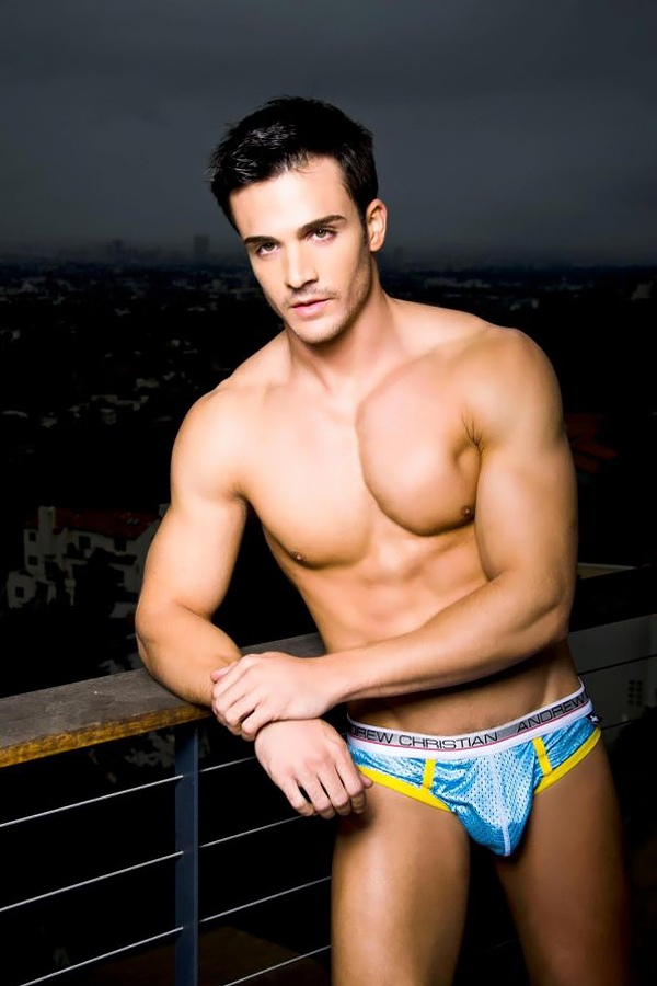 Brief Distraction featuring Andrew Christian and Philip Fusco