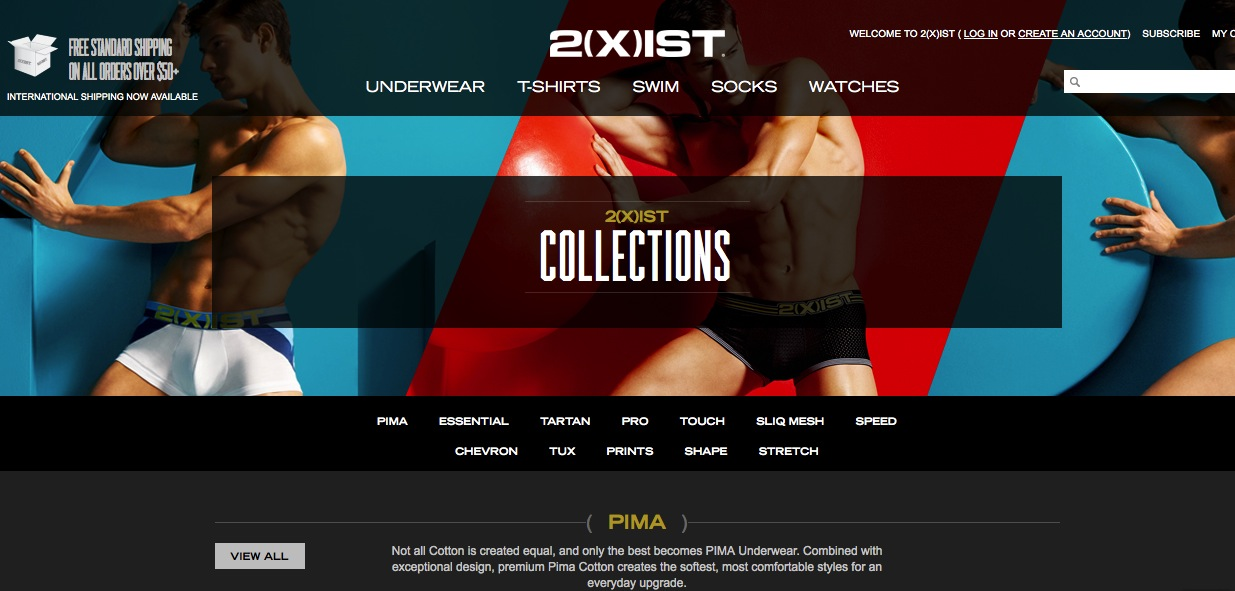 New 2xist.com was released!