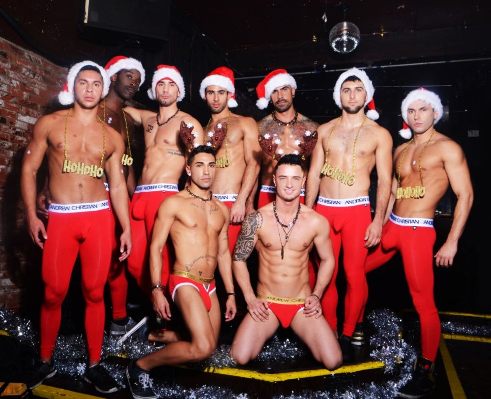 The AC Boys Celebrate The Holidays with the Night Before
