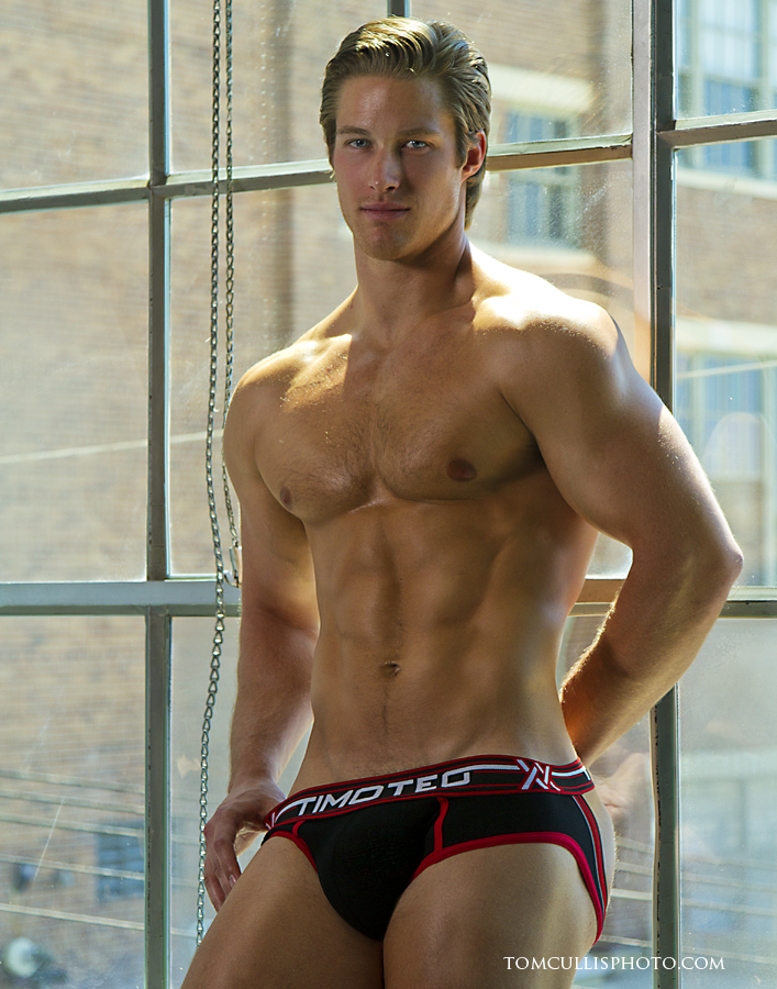Brief Distraction Timoteo Double Crossed Slingshot Jock Brief