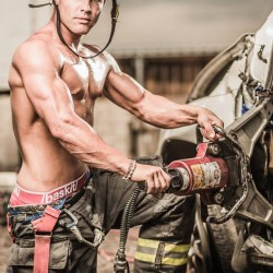 Colorado Firefighter's Calendar – Making of Day 1 Featuring Baskit