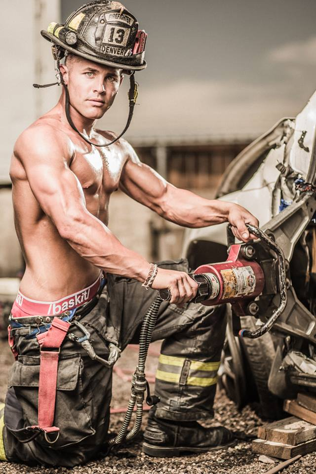 Colorado Firefighter's Calendar - Making of Day 1 Featuring Baskit