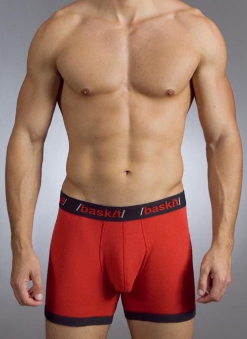 Baskit Contrast Boxer Brief