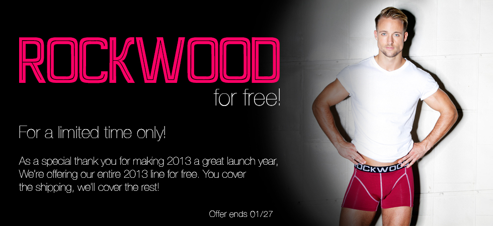 Want Free Undies? Rockwood Underwear is giving them away
