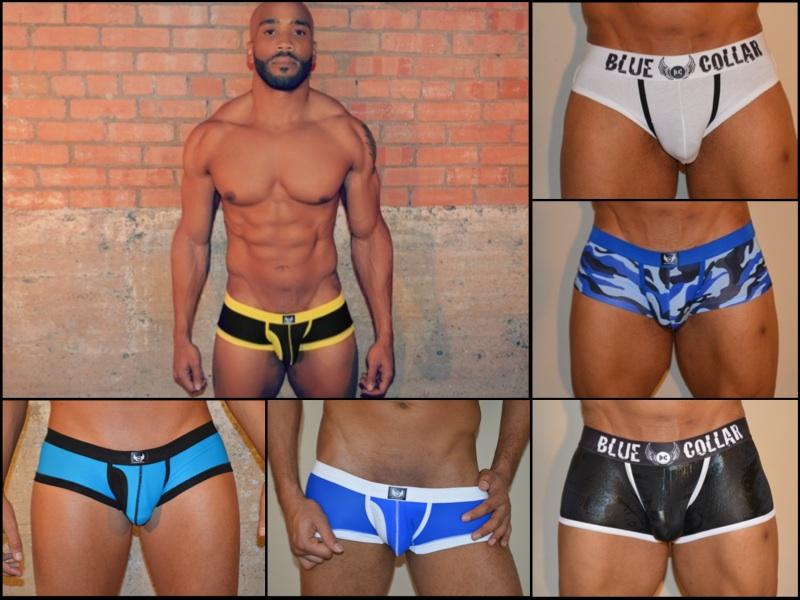 New Brand Blue Collar Underwear