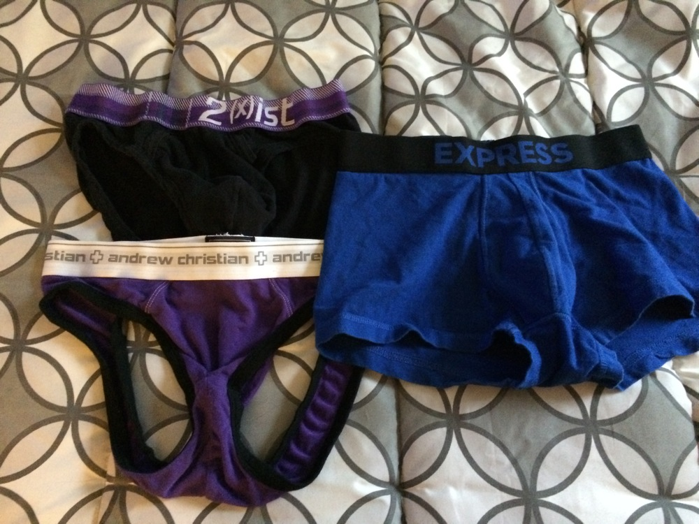 Bryce's Critiera for Selecting Underwear