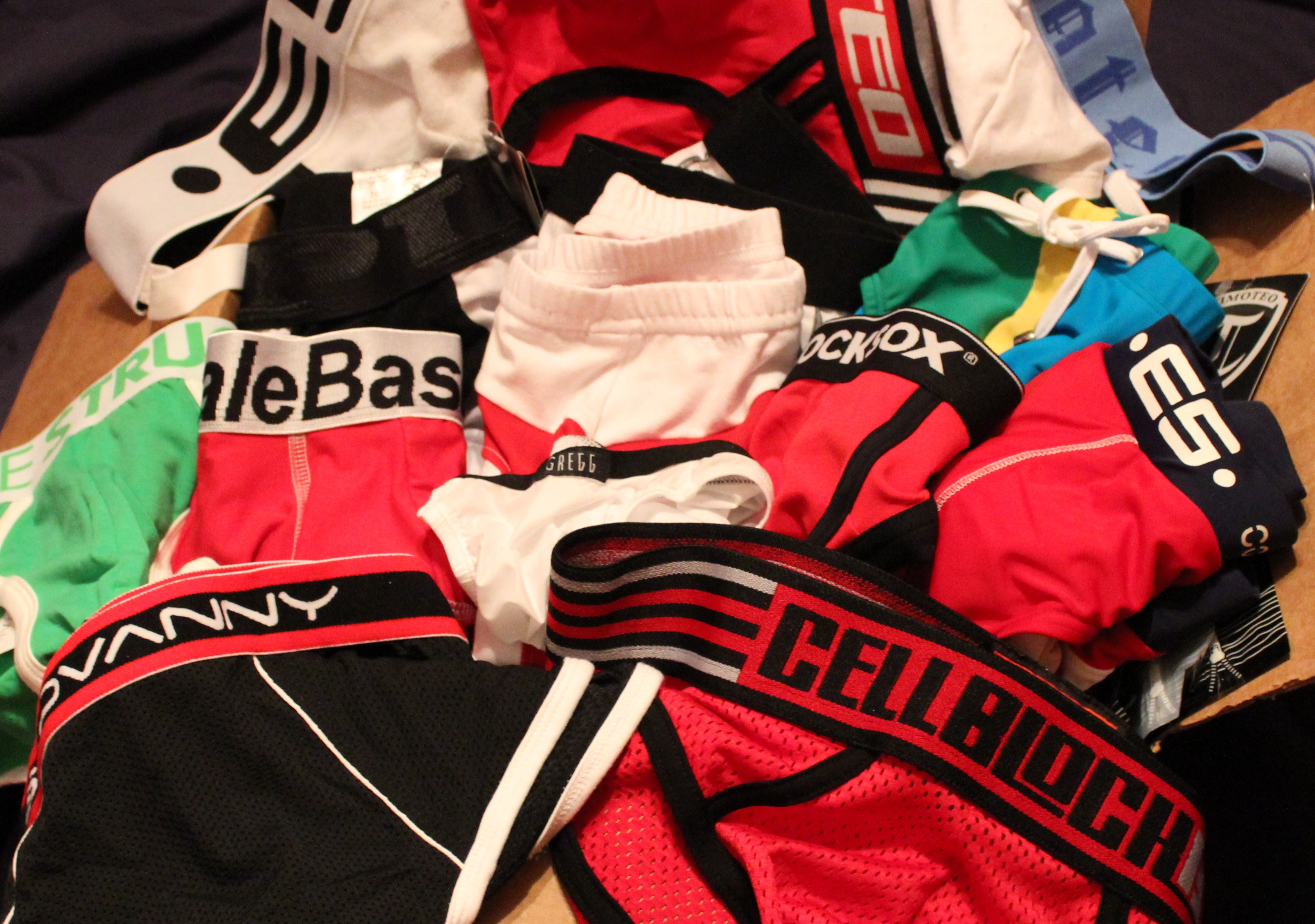 Cleaned out the Underwear Drawer? Now What do you do with the old pairs?