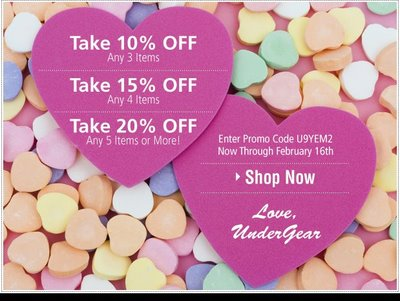 Undergear - Be Ours Sale