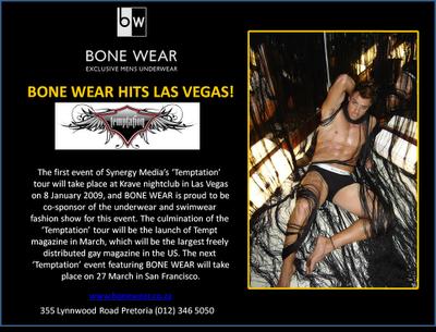 Bone Wear - Las Vegas Fashion Show