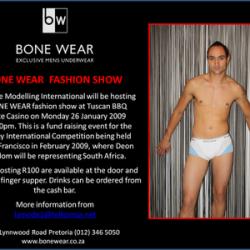Bone Wear – Fashion Show