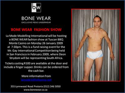 Bone Wear - Fashion Show