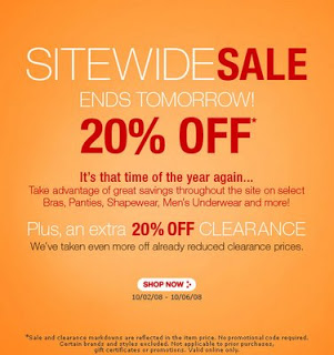 Bare Necessities 20% of Sale