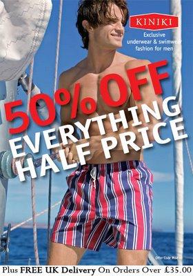 Kiniki - 50% off Everything