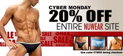 NuWear - Cyber Monday Sale