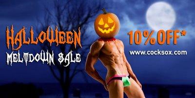 Cocksox Halloween Melt Down Sale