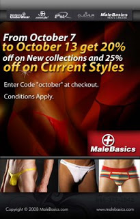Male Basics 20% off Sale