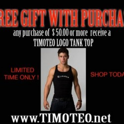 Timoteo – Free Gift With Purchase