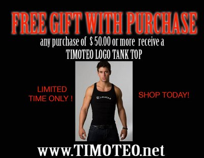 Timoteo - Free Gift With Purchase