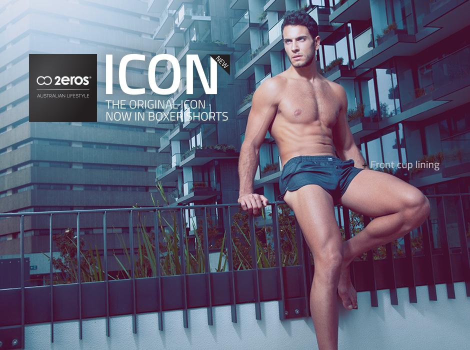 The New 2EROS ICON Shorts - Series 5
