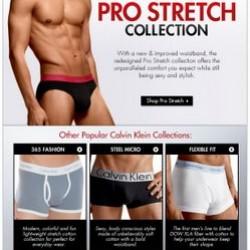 Fresh Pair – Calvin Klein Pro Stretch Collection