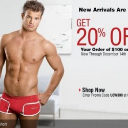 Undergear – 20% Off $100 or More
