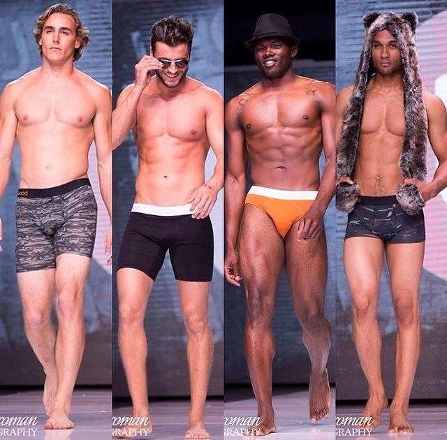 Wood Underwear Shows at L.A. Fashion Week