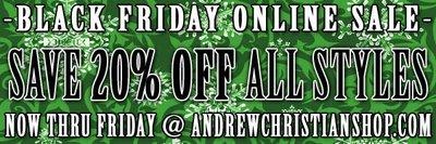 Andrew Christian - Black Friday Sale