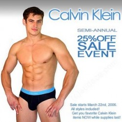 CK Underwear sale at Audace
