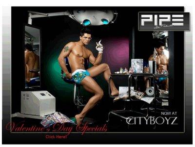 City Boyz - Now Carrying Pipe Underwear
