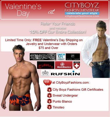 Cityboyz Fashion - Valentines Day Sale