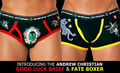 Andrew Christian - New Tattoo Underwear