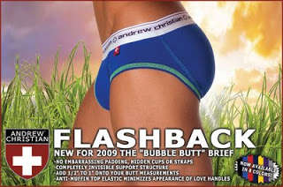 Andrew Christian - Flashback Brief now shipping in Colors