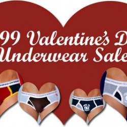 Andrew Christian – $9.99 Valentines Day Sale